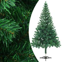 vidaXL kunstigt juletræ med fod 150 cm 380 grene