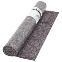 vidaXL skridsikker maleruld 50 m 180 g/m² grå