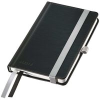 Leitz notesbog Style A6 linjeret sort