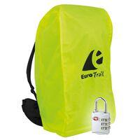 Travelsafe combo betræk til rygsæk med TSA lås M gul