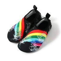 Slip-on sportssko til vand og yoga, størrelse 46/47 - Rainbow