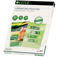 Leitz lamineringslommer 100 stk. 80 mikrometer A4