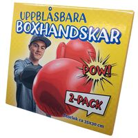 Oppustelige boksehandsker 2-pak
