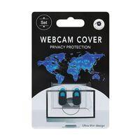 2X Videokamera webcam dækbeskyttelse