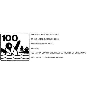 vidaXL redningsvest 100 N barn 10-20 kg