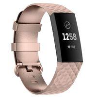 Sport Armbånd Til Fitbit Charge 4 - Guld