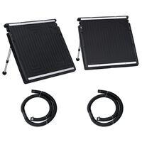 vidaXL soldrevet varmepanel til pool dobbelt 150x75 cm