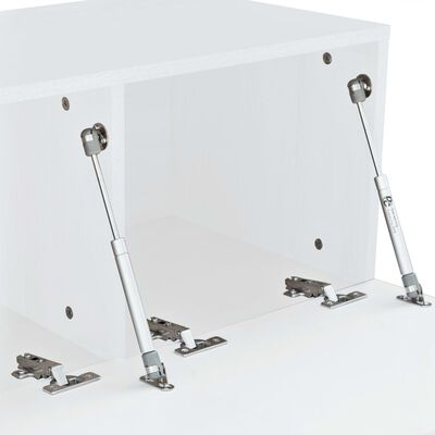 vidaXL tv-skabe 2 stk. spånplade 120 x 40 x 34 cm højglans hvid