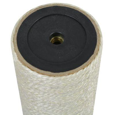 vidaXL kradsetræ til katte 8 x 40 cm 10 mm beige