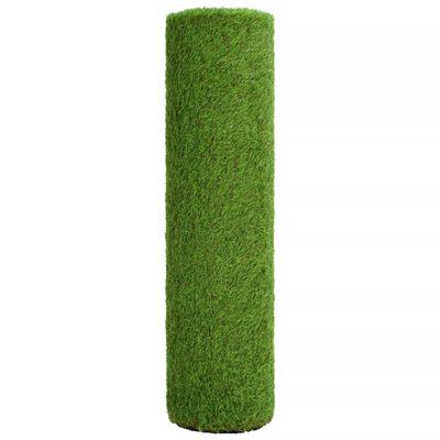 vidaXL kunstgræs 1 x 5 m/40 mm grøn