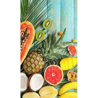 Good Morning badehåndklæde FRESH FRUITS 100x180 cm flerfarvet