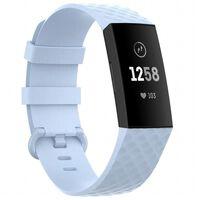 Sport Armbånd Til Fitbit Charge 4 - Lyseblå