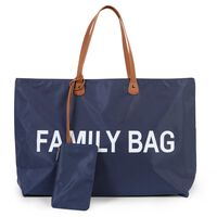 CHILDHOME pusletaske Family Bag marineblå