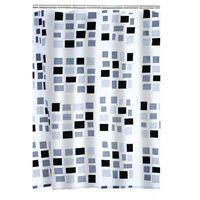 RIDDER badeforhæng Stones tekstil