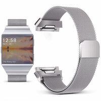 Fitbit Ionic armbånd - Milanese Loop - sølv - S