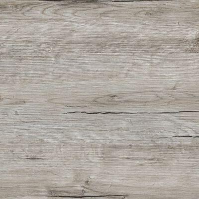FMD fritstående reol med 4 rum sand-egetræsfarve