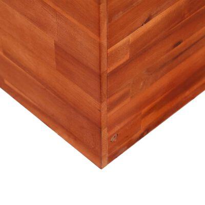 vidaXL forhøjet plantekasse i træ 100x100x100 cm
