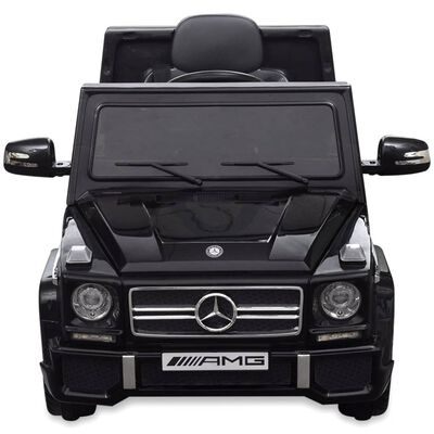 vidaXL Mercedes Benz G65 elbil SUV 2 motorer sort