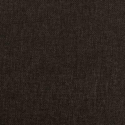 vidaXL massagestol med løftefunktion stof mørkebrun