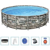 Bestway swimmingpoolsæt Power Steel 488x122 cm