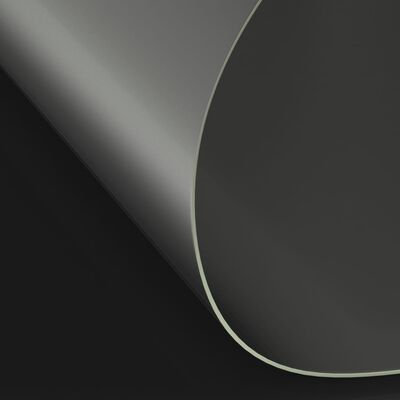 vidaXL bordbeskytter Ø 120 cm 2 mm PVC mat