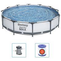 Bestway swimmingpoolsæt Steel Pro MAX 366x76 cm