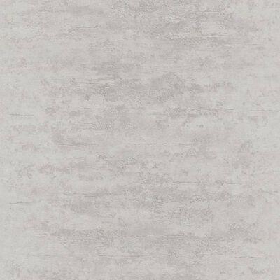 Topchic tapet betonstil grå og sølvfarvet