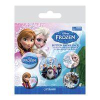 Frozen, 5x Badge