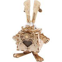 Robotime DIY-spilledåse Steampunk Bunny