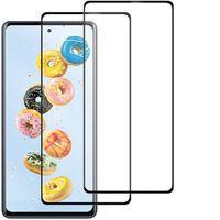 Skærmbeskytter Samsung A20 Hærdet Glas Transparent 2-pak