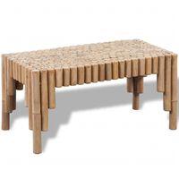 vidaXL sofabord bambus