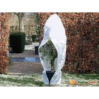 Nature frostdækken i fleece med lynlås hvid 70 g/m² 1,5x1,5x2 m