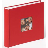 Walther Design fotoalbum Fun Memo 10x15 cm 200 billeder rød