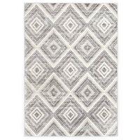 vidaXL gulvtæppe 160 x 230 cm PP grå