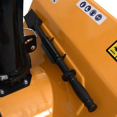 vidaXL sneslynge 6,5 hk gul og sort