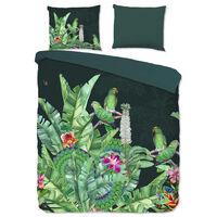 Good Morning sengetøj CATO 200x200 cm grøn