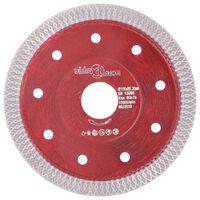 vidaXL skæreskive til diamantskærer med huller 115 mm stål
