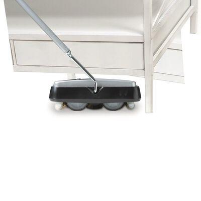 Leifheit tæppefejemaskine Regulus sort og sølvfarvet 11706