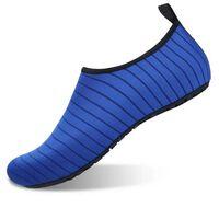 Slip-on sportssko til vand og yoga størrelse 38/39 - blå