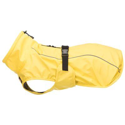 TRIXIE hunde-regnfrakke Vimy M 50 cm gul