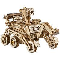 Robotime soldrevet bilsæt miniatureformat Curiosity Rover