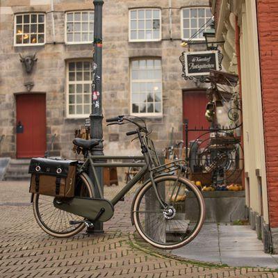 Willex cykeltasker 52 l tarpaulin matsort og matbrun