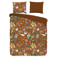 Good Morning sengetøj SHINSHOU 200x200 cm terrakotta brun
