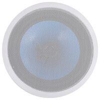vidaXL indbygningshøjttaler til væg og loft med diskant 180 W