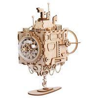 Robotime DIY-spilledåse Steampunk Submarine