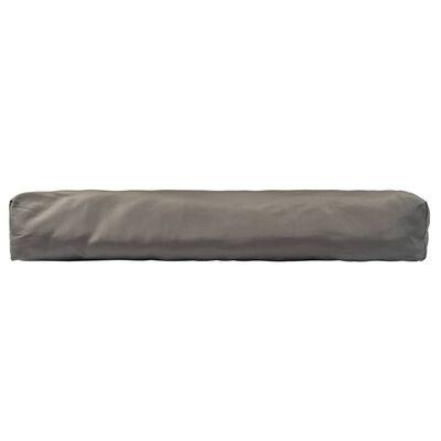 vidaXL pallehynder 3 stk. polyester grå