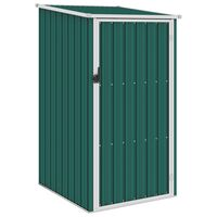 vidaXL haveskur 87x98x159 cm galvaniseret stål grøn