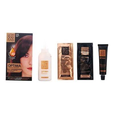 Llongueras - LLONGUERAS OPTIMA hair colour 5.35-passion chocolate