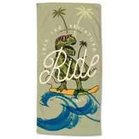 Good Morning badehåndklæde SURF GEEK 75x150 cm flerfarvet