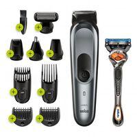 Genopladelig elektrisk barbermaskine Braun Bodygroom MGK7221 Grå